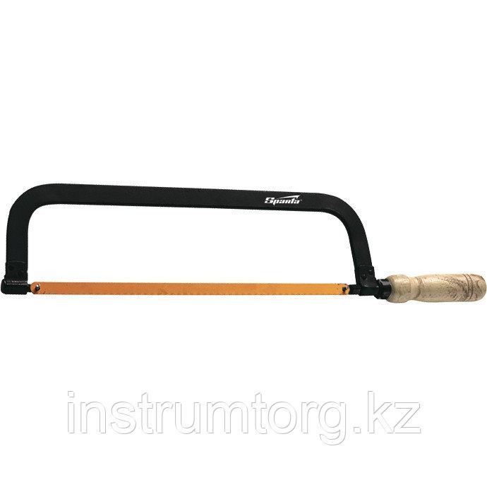 Ножовка по металлу, 300 мм, деревянная ручка// Sparta
