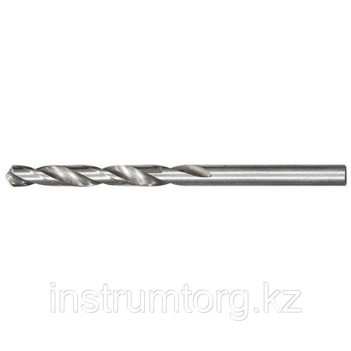 Сверло по металлу, 4,9 мм, полированное, HSS, 10 шт. цилиндрический хвостовик// Matrix