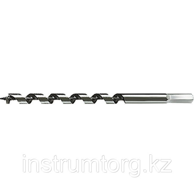 Сверло по дереву шнековое, 25 х 230 мм, 6-гранный хвостовик// Matrix