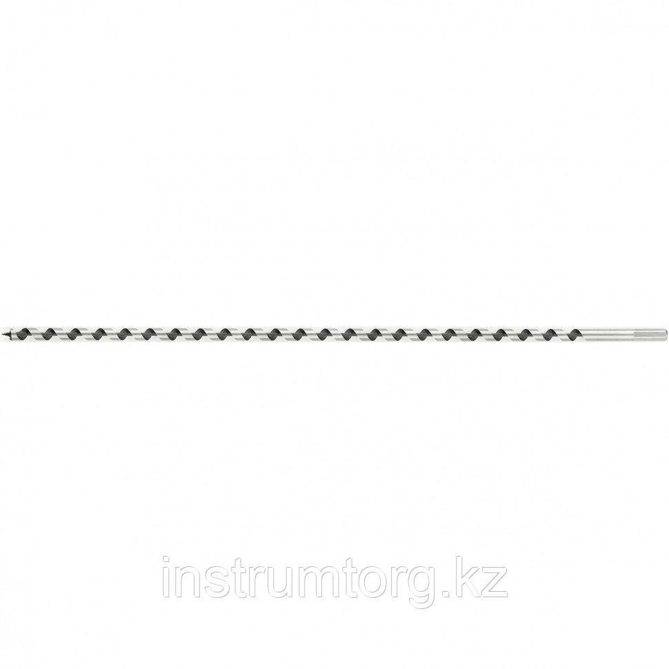 Сверло по дереву шнековое, 40 х 600 мм, 6-гранный хвостовик// Matrix
