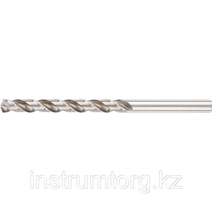 Сверло спиральное по металлу 4,5 мм, HSS, 338 W// Gross