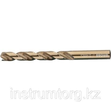 Сверло спиральное по металлу, 12 мм, HSS-Co// Gross