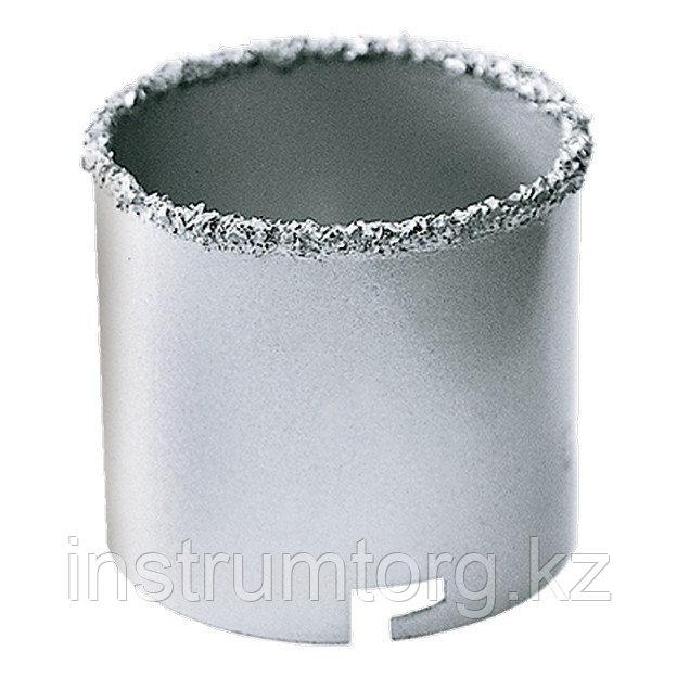 Кольцевая коронка с карбидным напылением, 53 мм// Matrix