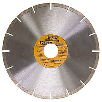 Диск алмазный отрезной сегментный, 230 х 22,2 мм, сухая резка, EUROPA Standard// Sparta