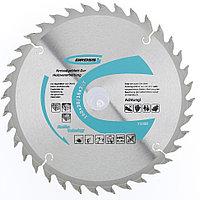Пильный диск по дереву ф160мм, 36 зубьев, посадка 20мм, кольцо 20/16мм// Gross