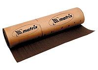 Шкурка на тканевой основе, P 40, 1000 мм х  20 м, водостойкая// MATRIX