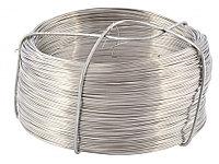Проволока из нержавеющей стали 0,5 мм, длина 200 м// Сибртех, фото 1