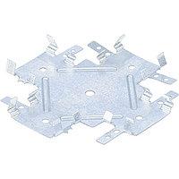 Краб соединительный для профиля KR 0,7 мм, KR 60х27 мм, цинк, Россия// Сибртех