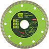 Диск алмазный отрезной Turbo, 125 х 22,2 мм, сухая резка// Сибртех