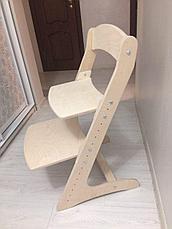 Детский растущий (регулируемый) стул. Ортопедический стул. (без покрытия), фото 3
