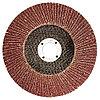 Круг лепестковый торцевой КЛТ-1, зернистость Р 80, 180 х 22,2 мм // Россия