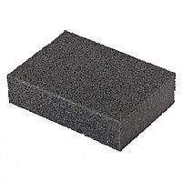 Губка для шлифования, 100 х 70 х 25 мм, мягкая, P100// Matrix, фото 1
