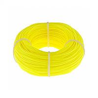 Леска строительная, 100 м, D 1 мм, цвет желтый// Сибртех