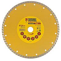 Диск алмазный отрезной Turbo, 230 х 22,2 мм, сухая резка// Denzel, фото 1
