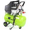 Компрессор воздушный КК-1500/24, 1,5 кВт, 198 л/мин, 24 л, прямой привод, масляный// Сибртех