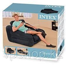 Надувное кресло-трансформер (раскладное) 107х221х66, Intex 68565