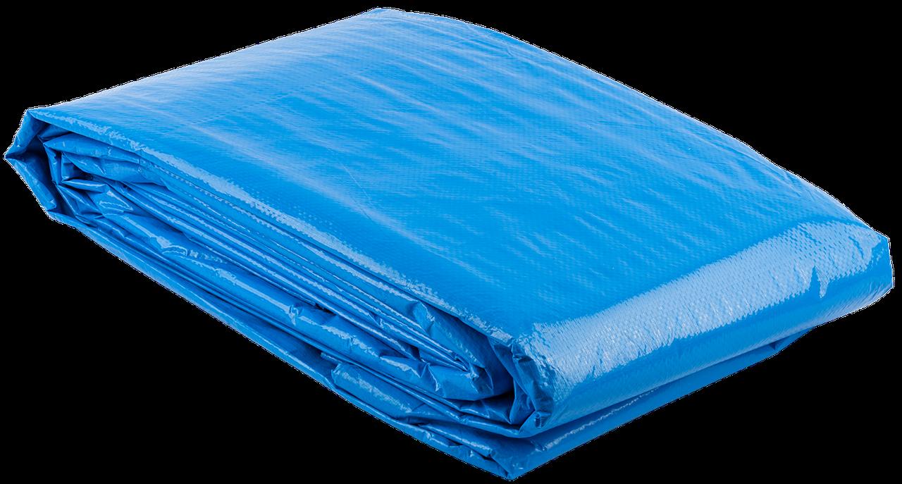 Тент строительный ЗУБР универсальный, 120 г/м3, с люверсами, водонепроницаемый, 3мх5м