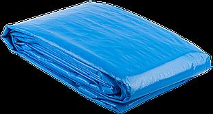 Тент строительный ЗУБР универсальный, 120 г/м3, с люверсами, водонепроницаемый, 6мх8м