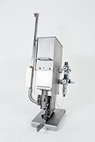 Клипсатор односкрепочный 1-2,5П на плоской скрепке с ручным пережимом