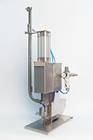Клипсатор односкрепочный 1-2,5П с пневмопережимом на плоской клипсе