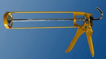Пистолет для герметиков DIY Жёлтый