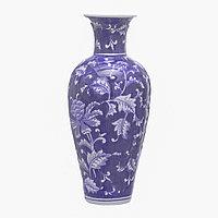 Керамическая ваза 12,5х12,5х28 см