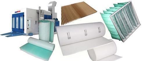 Фильтры и защитные жидкости для окрасочных камер