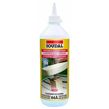 Полиуретановый клей для дерева Soudal