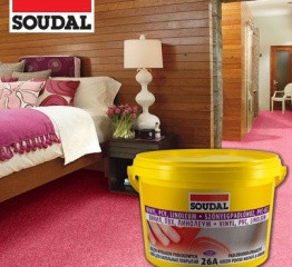 Клей для напольных покрытий Soudal 26 А