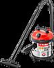 Пылесос строительный,модельМ3-20, 20л,1400Вт, сухая и влажная уборка, корпус из нерж стали, розетка до 2000Вт