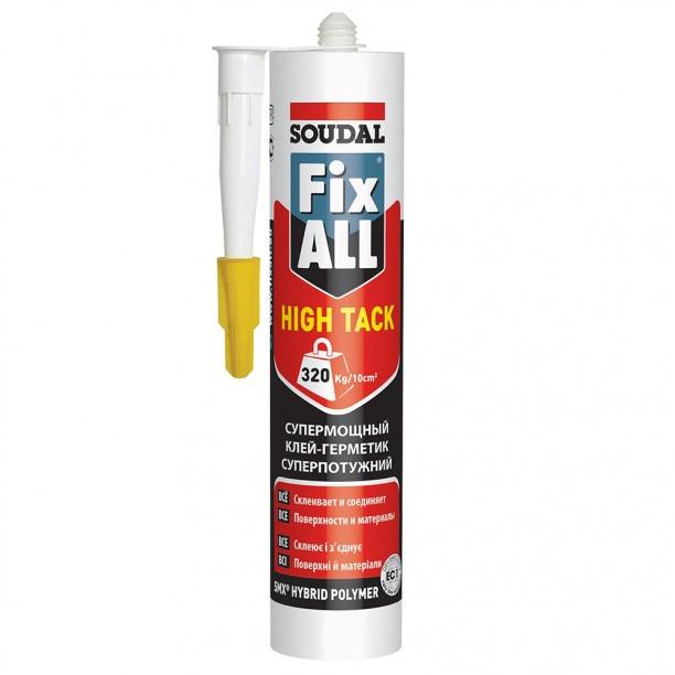 Клей-герметик Soudal Fix All High Tack