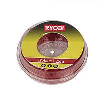 Режущая леска Ryobi RAC134 (2.4 мм, 25 м)