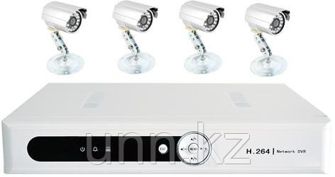 AVR-SET4 - Комплект видеонаблюдения на 4 камеры