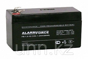 Аккумуляторная батарея 12 В, 1,2А/ч, фото 2