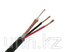 Кабель комбинированный для систем видеонаблюдения КВК-П 2Э 2х0,75