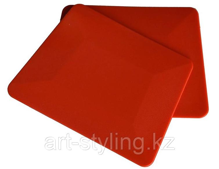 Красная тефлоновая выгонка (трапеция)