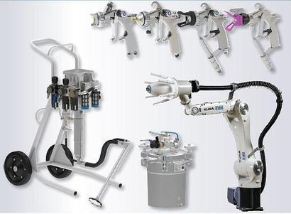 Инструмент, оборудование и расходные материалы для окрасочных производств