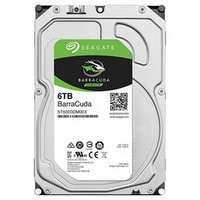 "Жесткий диск HDD 6Tb Seagate Barracuda ST6000DM003 3.5"" SATA 6Gb/s 256Mb 5400rpm"