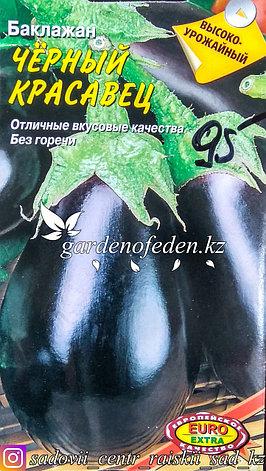 """Семена баклажана - Euro Extra """"Черный красавец"""", фото 2"""