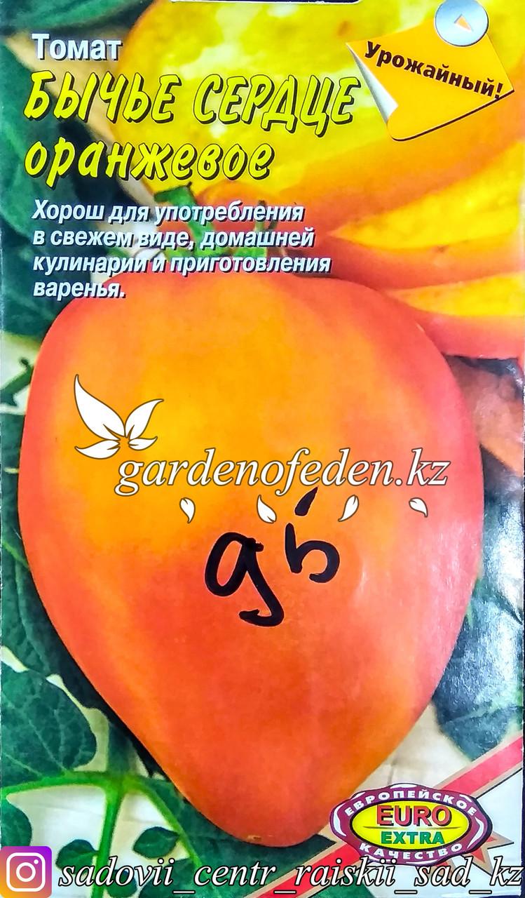 "Семена томата - Euro Extra ""Бычье сердце оранжевое"""