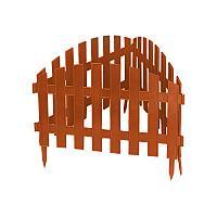 """Декоративный забор """"Винтаж"""" террактовый 28х300 см 65015 (002)"""