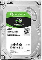 "Жесткий диск HDD 4Tb Seagate Barracuda ST4000DM004 3.5"" SATA 6Gb/s 256Mb 5400rpm, фото 1"