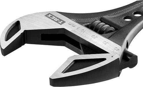 Ключ разводной силовой T-REX, 250 / 43 мм, KRAFTOOL, фото 2