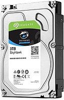 """Жесткий диск HDD 3TB Seagate SkyHawk ST3000VX009 3.5"""" SATA 6Gb/s 256Mb 5400rpm, фото 1"""