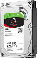 "Жесткий диск HDD 4Tb Seagate IronWolf ST4000VN008 3.5"" SATA 6Gb/s 64Mb 5900rpm"