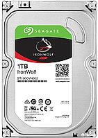 "Жесткий диск HDD 1Tb Seagate IronWolf ST1000VN002 3.5"" SATA 6Gb/s 64Mb 5900rpm, фото 1"