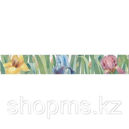 Керамическая плитка PiezaROSA Фиори бордюр ирисы 267017 (40*6), фото 2