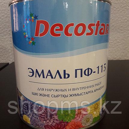 Эмаль ПФ-115 Decostar /зеленая 2,7кг, фото 2