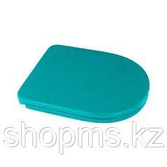 Сиденье для унитаза SANITA BEST Soft-close голубое №6640
