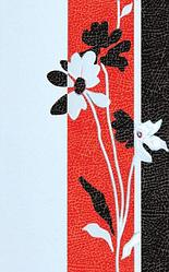 Керамическая плитка М-Квадрат Таурус декор красный 341541 (25*40) *